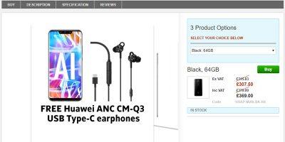 Clove Huawei Mate 20 lite 商品ページ