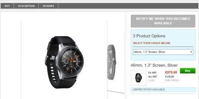 Clove Samsung Galaxy Watch 商品ページ