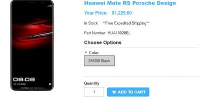 1ShopMobile.com PORSCHE DESIGN HUAWEI Mate RS 商品ページ
