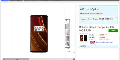 Clove OnePlus 6T 商品ページ