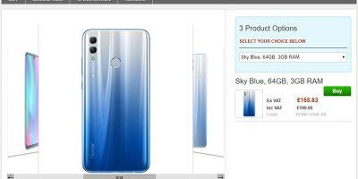Clove Huawei Honor 10 lite 商品ページ