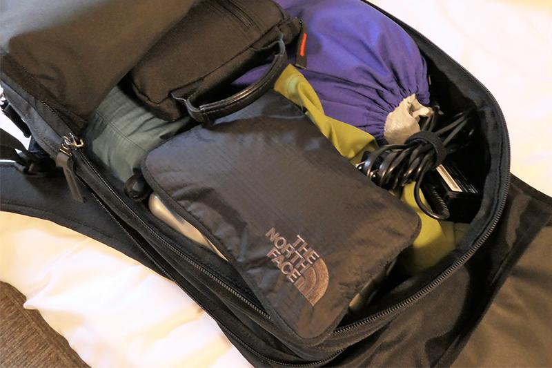 4泊5日で沖縄・福岡・北海道をまわった際の旅荷物