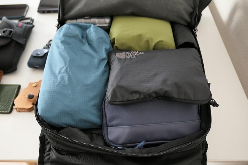 2泊3日の旅行での荷物