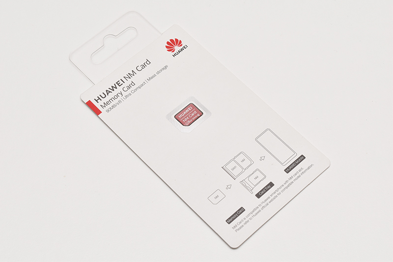 Huawei Nano Memory Cardのパッケージ