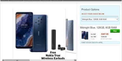 Clove Nokia 9 PureView 商品ページ