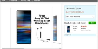 Clove Sony Xperia 10 Plus 商品ページ
