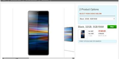 Clove Sony Xperia L3 商品ページ
