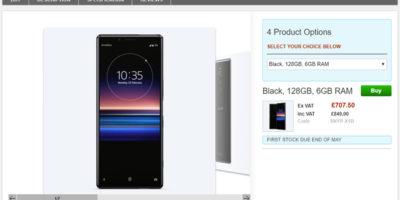Clove Sony Xperia 1 商品ページ