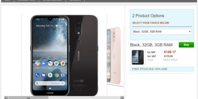 Clove Nokia 4.2 商品ページ