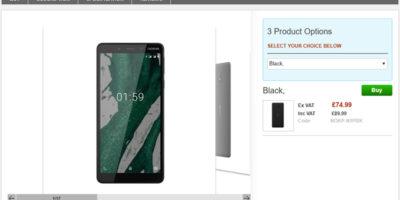 Clove Nokia 1 Plus 商品ページ