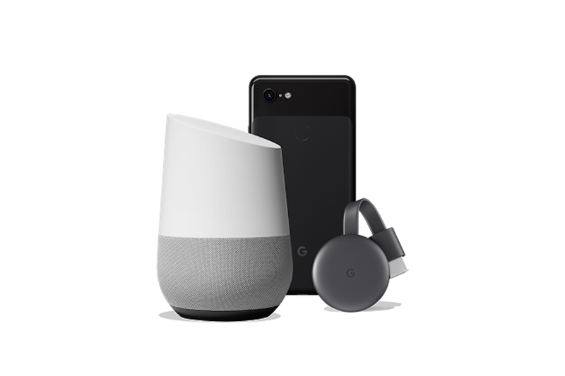 Pixel 3 XLとGoogle HomeとChromecast