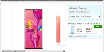Clove Huawei P30 Pro 商品ページ