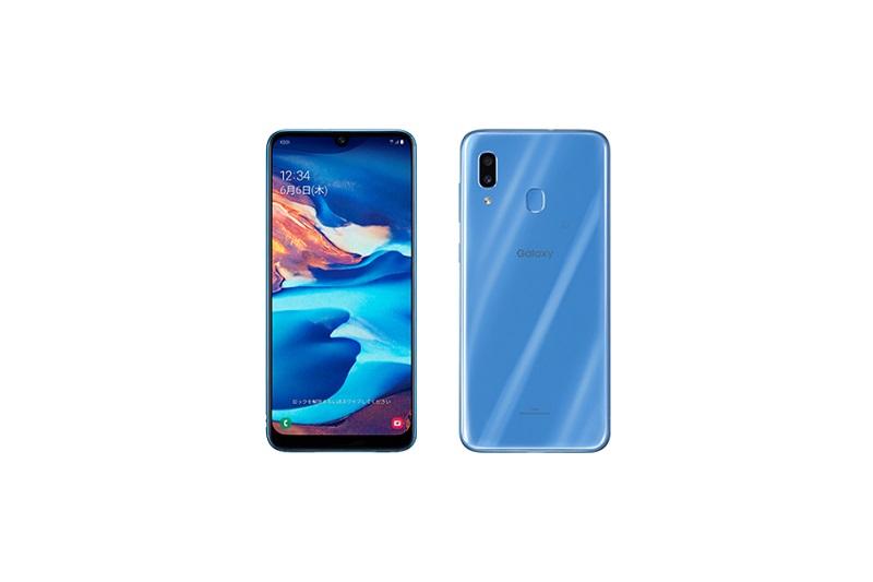 Galaxy A30 SCV43 Blue