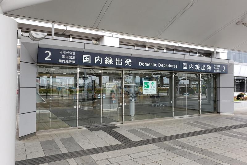 仙台国際空港の出入り口