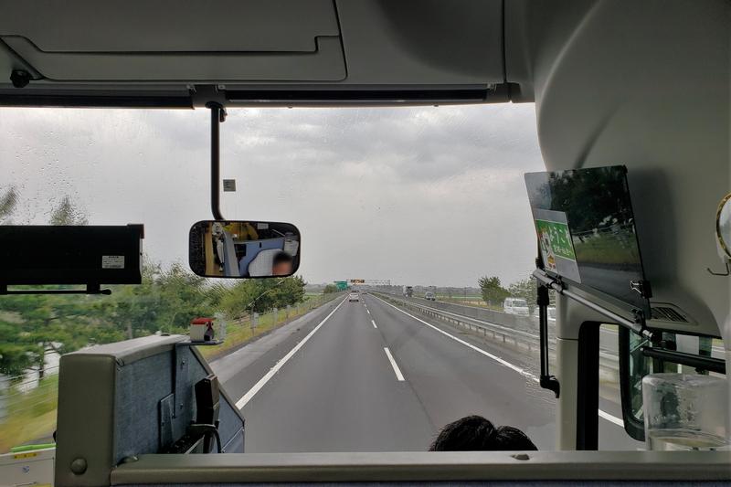 エアポートリムジンバスからの車窓
