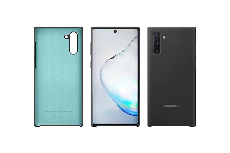 Samsung Galaxy Note10 Silicon Cover Black