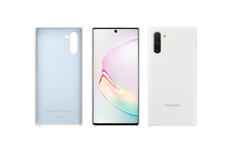 Samsung Galaxy Note10 Silicon Cover White