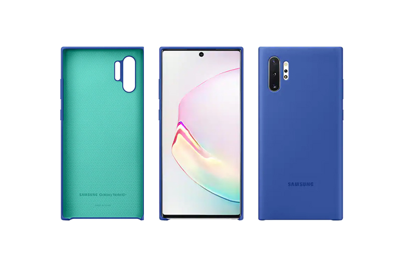 Samsung Galaxy Note10+ Silicon Cover Blue