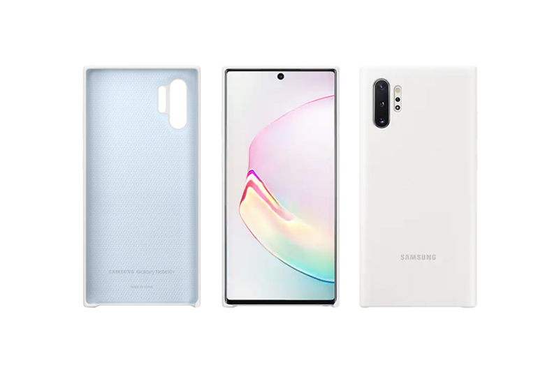 Samsung Galaxy Note10+ Silicon Cover White