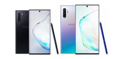 Samsung Galaxy Note10とGalaxy Note10+