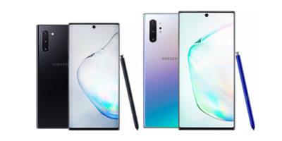 Samsung Galaxy Note10とGalaxy Note10+
