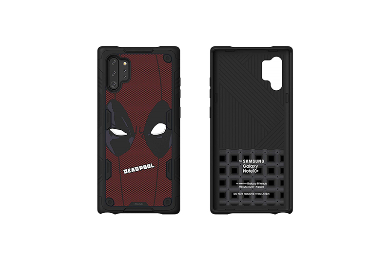 Galaxy Friends Deadpool Rugged Protective Smart Cover for Note10+