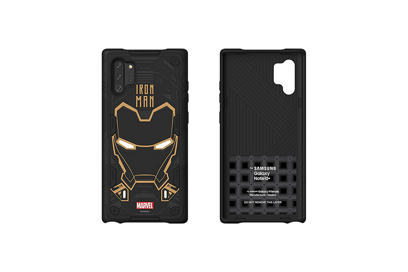 Galaxy Friends Iron Man Rugged Protective Smart Cover for Note10