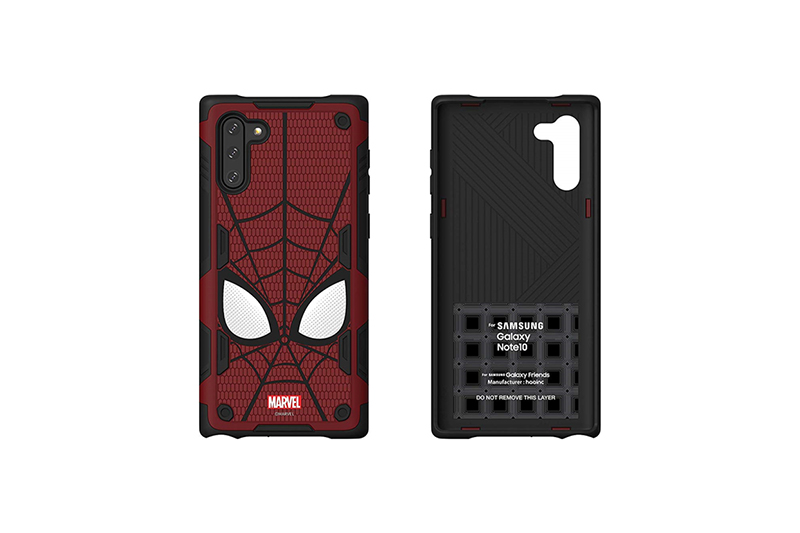 Galaxy Friends Spider-Man Rugged Protective Smart Cover for Note10