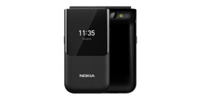 Nokia 2720 Flip Ocean Black