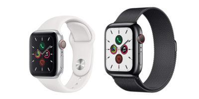 Apple Watch Series 5 GPS+Cellularモデル