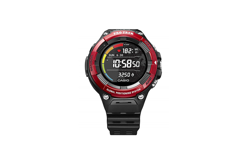 CASIO PRO TREK Smart WSD-F21HR Red