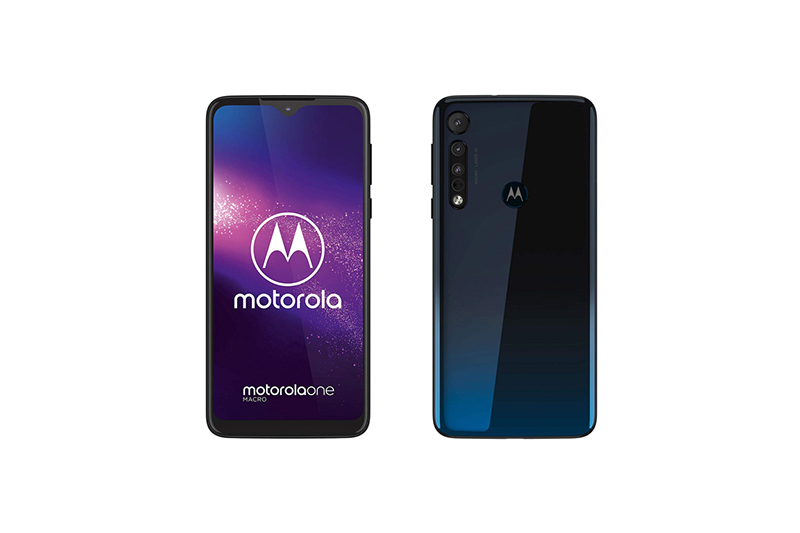 Motorola motorola one macro Space Blue