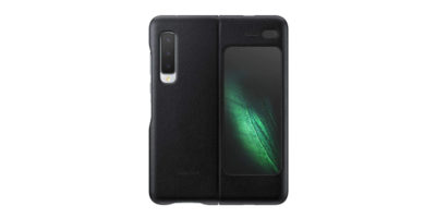 Samsung Galaxy Fold Leather Cover ブラック