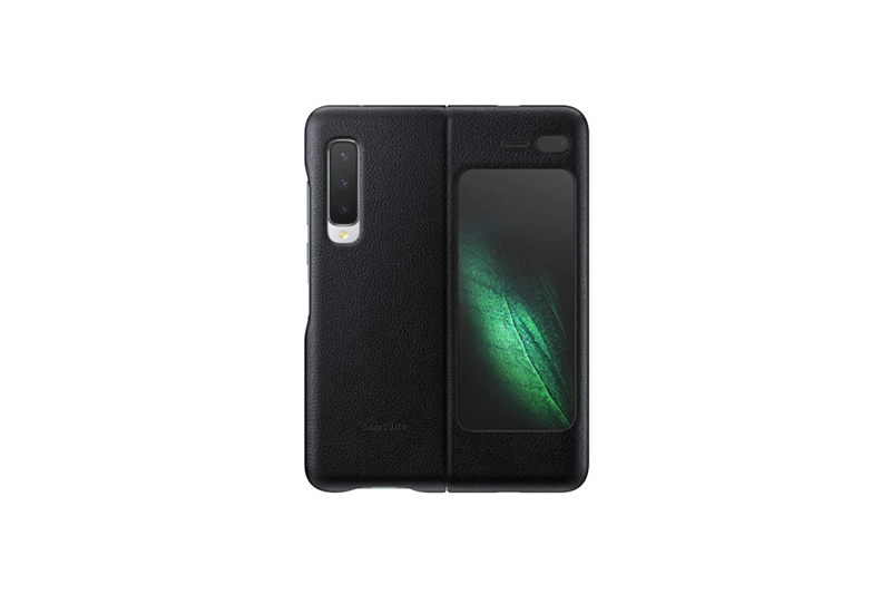 Samsung Galaxy Fold Leather Cover ブラック
