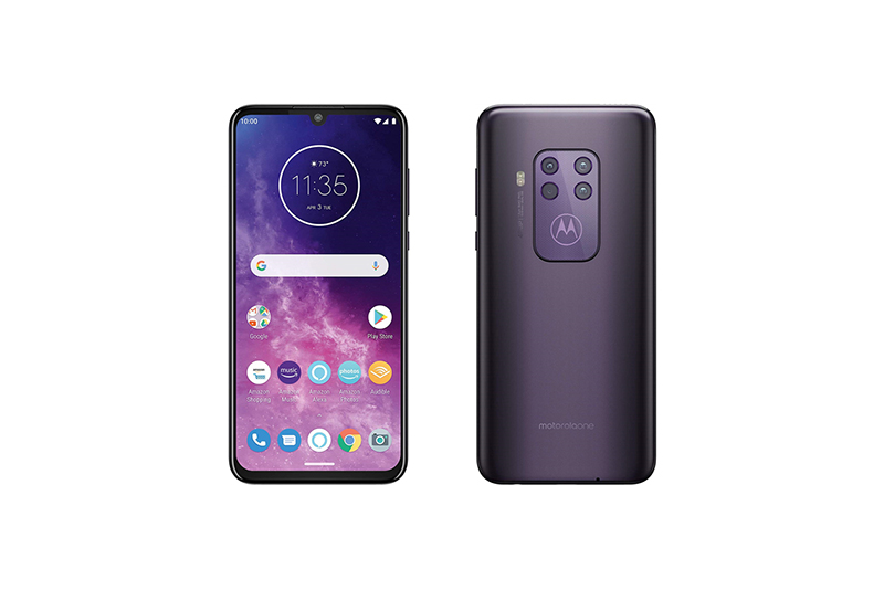 motorola one zoom Cosmic Purple