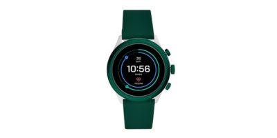 FOSSIL Sport Smartwatch グリーンシリコン