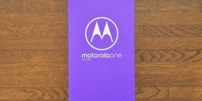 motorola one macroのパッケージ