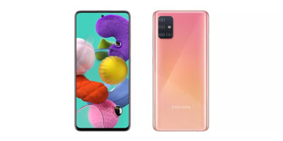 Samsung Galaxy A51 Prism Crush Pink
