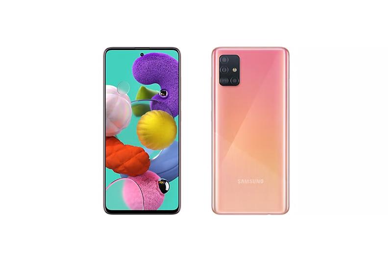 Samsung Galaxy A51 Prism Crush Pink