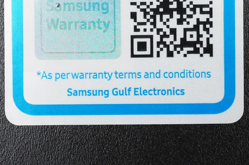 Galaxy Note10 Lite(中近東版)の保証シール