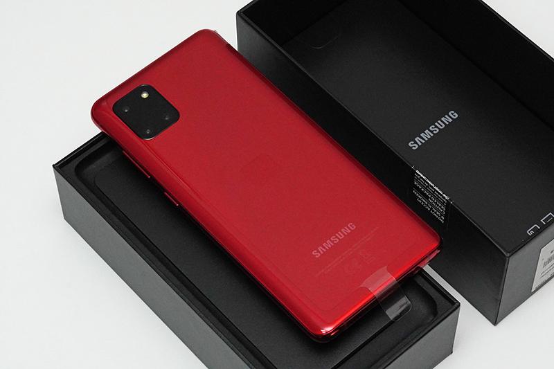 Galaxy Note10 Lite(Aura Red)