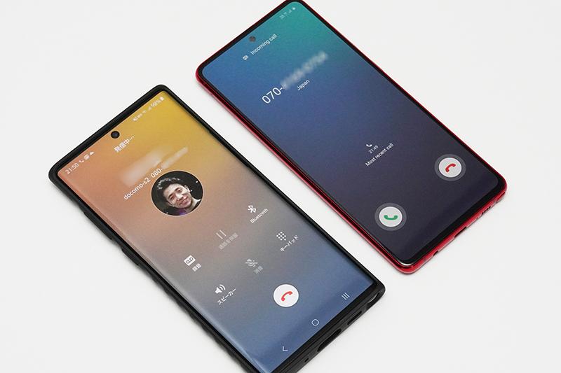 Galaxy Note10+とGalaxy Note10 Lite