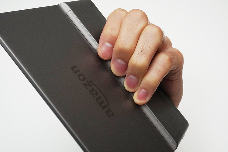 GRiPhone滑り止め透明クッションシールとKindle Oasis