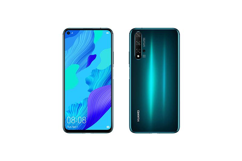 Huawei nova 5T クラッシュグリーン