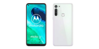 Motorola moto g8 Pearl White