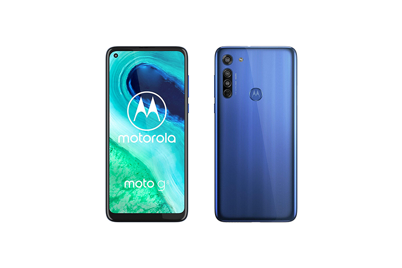 Motorola moto g8 Neon Blue