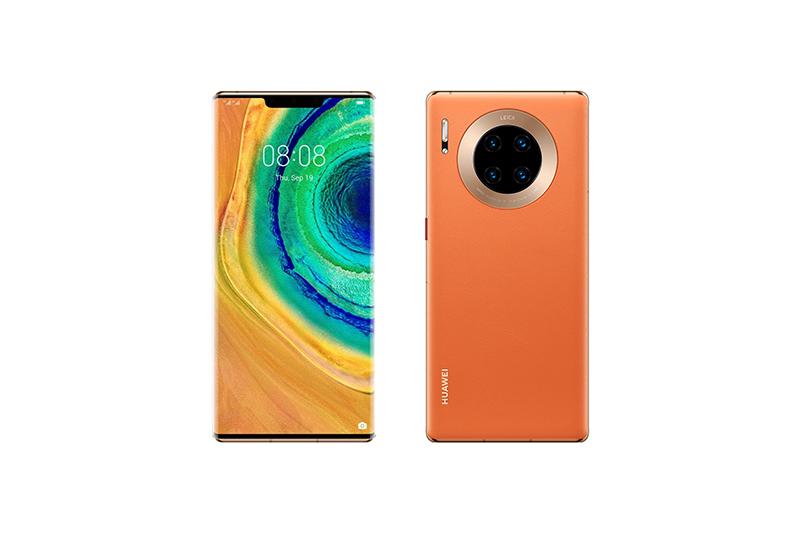 Huawei Mate 30 Pro 5G オレンジ