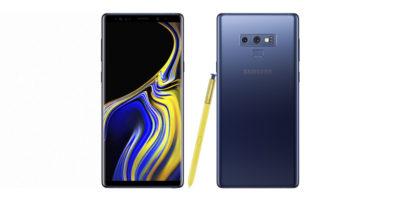 Samsung Galaxy Note9 Ocean Blue