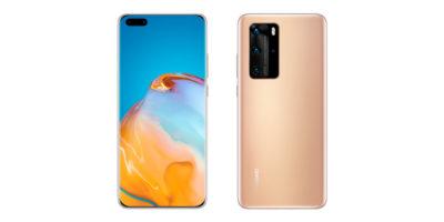 Huawei P40 Pro Blush Gold