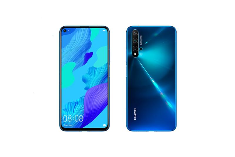 Huawei nova 5T クラッシュブルー